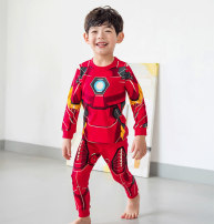 Home suit Seven days and seven nights 90cm 100cm 110cm 120cm 130cm 140cm 150cm Big red dinosaur yellow bottle light blue bottle white cartoon gray cartoon Four seasons male Cotton 95% polyester 5% 11-13 years old 1-3 years old 3-5 years old 5-7 years old 7-9 years old 9-11 years old cotton Class B