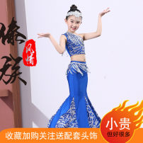 National costume / stage costume Autumn of 2019 Royal blue white light purple rose red lake blue green Children 110 children 120 children 130 children 140 children 150 s ml XL other sizes PY-DZ1904606T Puyi (clothing) Under 17