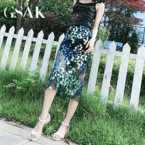 skirt Spring 2020 S M Apricot black Short skirt commute High waist A-line skirt other Type A 25-29 years old More than 95% other GSAK other Korean version Other 100% Pure e-commerce (online only)