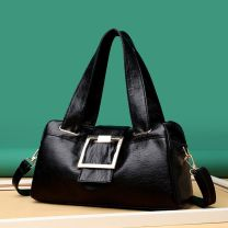 Bag The single shoulder bag PU other Other / other Zipper buckle Two shoulders and one shoulder Belt decoration synthetic leather
