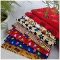 Fabric / fabric / handmade DIY fabric cotton Loose shear piece Cartoon animation printing and dyeing clothing Chinese style 100%