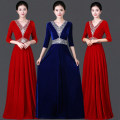 National costume / stage costume Autumn of 2019 Royal Blue Red S M L XL XXL XXL XXL large XXL Over 35 years old Polyester 100% Pure e-commerce (online only)