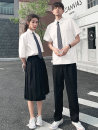 student uniforms Summer 2020 Men's shirt + tie shirt + tie shirt + trousers + tie shirt + skirt + tie grey men's suit grey women's suit S ml XL 2XL 3XL 4xl-6xl class uniform customization Short sleeve solar system skirt 18-25 years old Goveiffe other GWF08306 71% (inclusive) - 80% (inclusive)