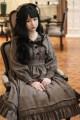 Lolita / soft girl / dress Laurel Lolita Full dress, full beret, full 3-5 days, Plaid Bow hairpin on the model's head 2XL,3XL,L,M,S,XL