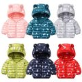 Cotton padded jacket neutral No detachable cap Cotton 81% - 90% Other / other Printed pink, printed fruit green, printed dark green, printed navy blue, printed red 80cm,90cm,100cm,110cm,120cm routine Zipper shirt Cartoon No model other Class C other Polyester 100% Cotton liner Polyester 100%