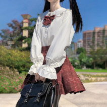 student uniforms Autumn 2020 XS S M L XL Long sleeves solar system skirt 18-25 years old Yifei grass polyester 2020915x Polyester 100% Pure e-commerce (online only)