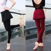 Aerobics lower garment Black shorts, Burgundy shorts, black trousers, Burgundy trousers, chiffon skirt Capris modal, chiffon skirt trousers modal S,M,L,XL,XXL Daydance female WKC7046