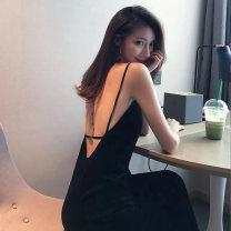 Women's large Autumn 2020 black L XL S M commute Korean version Xian Jiefu 30% and below Other 100% Pure e-commerce (online only)