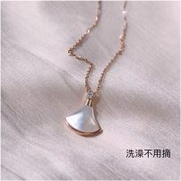 Necklace Titanium steel 101-200 yuan Posture encounter Gold + white Fritillaria gold + Red chalcedony gold + Black Agate gold + Green Malachite rose gold + white Fritillaria rose gold + Red chalcedony rose gold + Black Agate rose gold + Green Malachite Original design male yes Fruits