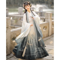 Hanfu 91% (inclusive) - 95% (inclusive) Winter 2020 S M L XL polyester fiber