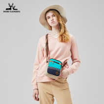 Outdoor casual clothes female 201-500 yuan S M L XL XXL XXXL Sweater Spring of 2019 Long sleeves Spring and Autumn V-neck routine China Urban outdoor Cotton polyester