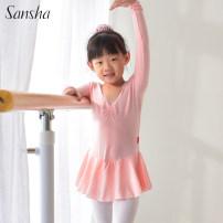 Ballet Costume Sansha / Sansha S M L XS XL XXL XXL larger Pink, light blue, pink, light blue, customized (contact customer service for price) children P114702-1 Ballet Jumpsuit Lycra Lycra