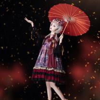 Lolita / soft girl / dress Lolita / Twilight star Small high waist, chest size, KC, inside 50. M, s, one size fits all Winter, summer, spring, autumn goods in stock Lolita, Lolita