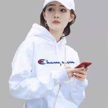 Sweater / sweater Autumn of 2019 S/2 M/3 L/4 XL/5 Long sleeves routine Socket singleton  routine Hood easy commute routine 25-29 years old 96% and above Ol style cotton Embroidery Drawstring cotton Cotton 100% Same model in shopping mall (sold online and offline)