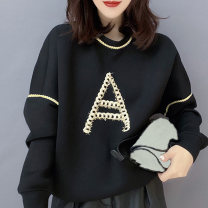 Sweater / sweater Autumn 2020 black S M L Long sleeves routine Socket singleton  routine Crew neck easy street routine letter 81% (inclusive) - 90% (inclusive) Miheng polyester fiber B193y09763p1230 Polyester 85% polyamide 15% Pure e-commerce (online only) Europe and America