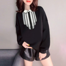 Sweater / sweater Autumn 2020 black S M L XL Long sleeves routine Socket singleton  routine square neck easy street routine 30-34 years old 81% (inclusive) - 90% (inclusive) Miheng polyester fiber Polyester 85% polyamide 15% Pure e-commerce (online only) Europe and America