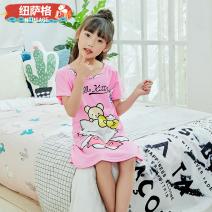 Pajamas / housewear set female Neuzag wool WhXQe4 Cotton 100% Summer 2021 Cotton 100% 48CM (8 for 90-100cm) 52cm (10 for 100-110cm) 59cm (12 for 110-120cm) 66cm (14 for 120-130cm) 73cm (16 for 130-140cm) 80cm (18 for 140-150cm)