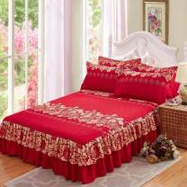 Bed skirt 2 pillowcases for bed skirt 1.8x2.2m, 2 pillowcases for bed skirt 1.2x2m, 2 pillowcases for bed skirt 2.0x2.2m, 2 pillowcases for bed skirt 1.5X2m and 2 pillowcases for bed skirt 1.8x2m cotton Other / other Plants and flowers Qualified products