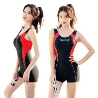 one piece  Other M (80-95 kg) sports professional choice, l (95-105 kg) fashion simple and generous, XL (105-120 kg) elastic body without water, 2XL (120-130 kg) hot spring swimming dual-use, 3XL (130-140 kg) does not fade and deformation, 4XL (140-145 kg) 30 days no reason to return New 19191 female