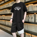 T-shirt Youth fashion A105 - 0818 white A105 - 0818 black A105 - 0818 sea blue thin M L XL 2XL 3XL 4XL Zenu Short sleeve Crew neck easy daily summer A105 - 0818 Polyester 95% polyurethane elastic fiber (spandex) 5% teenagers routine tide Spring 2021 Pure e-commerce (online only)