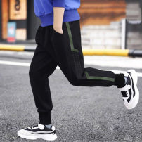 trousers Other / other male 110 (recommended height 100 cm), 120 (recommended height 110 cm), 130 (recommended height 120 cm), 140 (recommended height 130 cm), 150 (recommended height 140 cm), 160 (recommended height 150 cm) spring and autumn trousers leisure time Sports pants Leather belt other