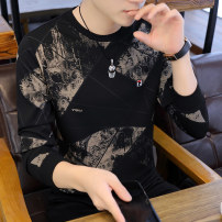 T-shirt Youth fashion 927 black, 927 white, 923 black, 923 white, 925 black, 925 white, 928 black, 928 white routine M,L,XL,2XL,3XL Others Long sleeves Crew neck Super slim daily autumn ff800112 youth routine tide other 2020 Geometric pattern other Geometric pattern washing Fashion brand