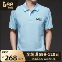 Polo shirt LeedDeep Fashion City routine S M L XL 2XL 3XL standard business affairs summer Short sleeve Business Casual routine teenagers Cotton 65% polyester 35% other cotton washing printing Summer 2021 Pure e-commerce (online only) 50% (inclusive) - 69% (inclusive)