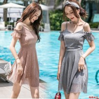 suit Other / other Purple, gray, black, apricot, pink S,M,L,XL female summer other other There are models in the real shooting Socket other other H2027 other 12 years old Chinese Mainland