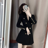 Square Dance Dress S,M,L,XL,2XL Picture color dress other Long sleeves Self cultivation Middle-skirt female
