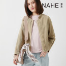 short coat Spring 2020 S,M,L Walnut, cream apricot Long sleeves have cash less than that is registered in the accounts routine easy street routine other 25-29 years old Nahe 96% and above NW01DM0056 cotton cotton