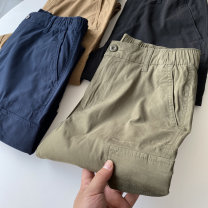 Casual pants Biography Youth fashion Black, Navy, khaki, olive green S,M,L,XL trousers Other leisure Self cultivation