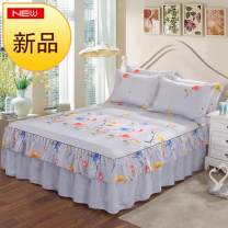 Bed skirt Plants and flowers cotton Other / other Qualified products 120cmx200cm, 150cmx200cm, 180cmx200cm, 200cmx220cm and 180cmx220cm