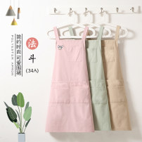 apron Pink fadou 34a apron green fadou 34a apron purple fadou 34a apron coffee fadou 34a apron Sleeveless apron antifouling Korean version other Personal washing / cleaning / care Average size WQ-055 Yibeike the post-80s generation yes Tender girl's heart