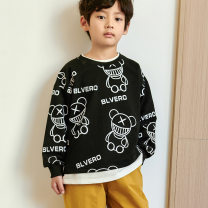 Sweater / sweater Other / other Black, white, yellow neutral 100cm,110cm,120cm,130cm,140cm,150cm spring and autumn nothing other Bear Class A