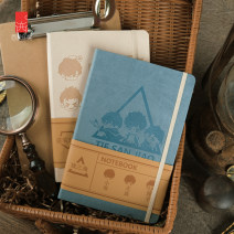 Cartoon card / Pendant / stationery Notepad / notebook Over 6 years old Seal impression / Xiling impression Wu Xie Hand book Five good men in the iron triangle goods in stock