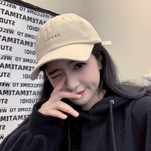 Hat cotton Baseball cap Spring summer autumn winter currency leisure time Young lovers dome Wide eaves 15-19 years old, 20-24 years old, 25-29 years old letter Shopping other Spring 2020 no