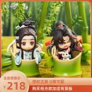 Others Over 14 years old goods in stock Qingcang Chinese Mainland PVC series Magic founder animation forget envy birthday Full pre sale A pair of combination (with background board) Wei Wuxian single blue forgetting machine single