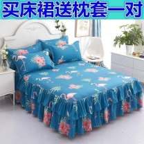 Bed skirt 180cmx220cm for pillow case, 120cmx200cm for pillow case, 150cmx200cm for pillow case, 180cmx200cm for pillow case, 200cmx220cm for pillow case Others Other / other Plants and flowers Qualified products D93859