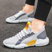 canvas shoe 39 40 41 42 43 44 zipper Low Gang Flat heel spring and autumn leisure time cloth rubber ventilation lattice Adhesive shoes C18 Sports & Leisure Summer 2020 cloth