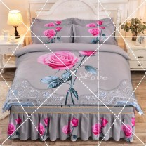 Bedding Set / four piece set / multi piece set spandex Embroidery, quilting Others See details Other / other Others 4 pieces See details 150x200cm four piece set, 180x200cm four piece set, 180x220cm four piece set, 200x220cm four piece set Bed skirt 30% and below