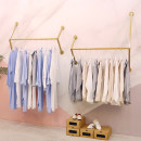 Clothing display rack T-011 is 100 long, t-011 is 120 long, t-011 is 150 long, two-piece set is 2m long, two-piece set is 2m 4 long, two-piece set is 3M long clothing iron T-011 Art student Official standard