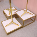 Clothing display rack Square model stand with plate - small, square model stand with plate - medium, square model stand with plate - large, large, medium and small three piece set clothing iron Square model table with plate Art student Official standard