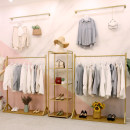 Clothing display rack clothing iron Art student Official standard