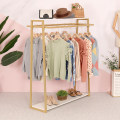 Clothing display rack clothing Metal Art student Official standard