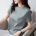 T-shirt Pearl White Classic Black oat apricot high grade grey S M L XL 2XL Summer 2020 Short sleeve Crew neck easy Regular routine commute polyester fiber 86% (inclusive) -95% (inclusive) 25-29 years old Simplicity Banlielour / balilor BL80128-1 Solid color Pure e-commerce (online only)