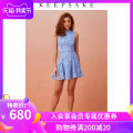 Dress Summer 2020 sky blue XXS XS S M L XL Short skirt singleton  commute middle-waisted Solid color Socket A-line skirt 25-29 years old Type A Keepsake the Label literature 302002020-425 More than 95% other polyester fiber Polyester 100%