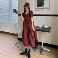 Women's large Summer 2020 S m large L Dress Socket Medium length polyester fiber Shenmu (clothing) 18-24 years old 96% and above longuette Polyester 100% Pure e-commerce (online only)