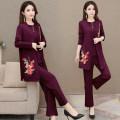 Fashion suit Autumn 2020 XL 2XL 3XL 4XL Polyester 92% other 8%