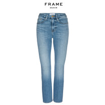 Jeans Spring 2021 blue 23 24 25 26 27 28 29 30 Ninth pants Natural waist Flared trousers routine 25-29 years old LCMB793MLVL FRAME DENIM 71% (inclusive) - 80% (inclusive) Cotton 77% modal fiber (modal) 18.5% polyester 3.5% polyurethane elastic fiber (spandex) 1%