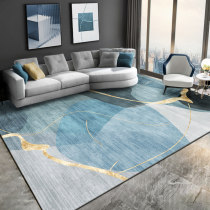 a living room carpet Modern simplicity sofa Tea table mat Light luxury senior bedroom carpet household Northern Europe large area carpet